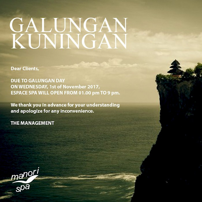 Happy Galungan and Kuningan